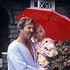 Jeff Bridges and Elle Fanning in The Door in the Floor (2004)