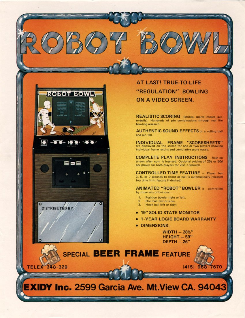 Robot Bowl (Video Game 1977) - IMDb