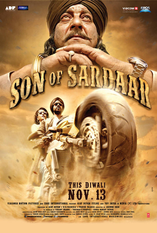 Son of Sardaar 2012 Hindi 720p BluRay ESubs 1.3GB Download