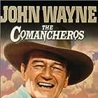 John Wayne, Bruce Cabot, and Stuart Whitman in The Comancheros (1961)