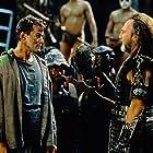Ray Liotta and Stuart Wilson in No Escape (1994)