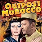 George Raft and Marie Windsor in Outpost in Morocco (1949)