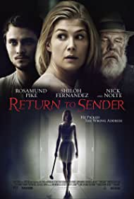 Nick Nolte, Rosamund Pike, and Shiloh Fernandez in Return to Sender (2015)