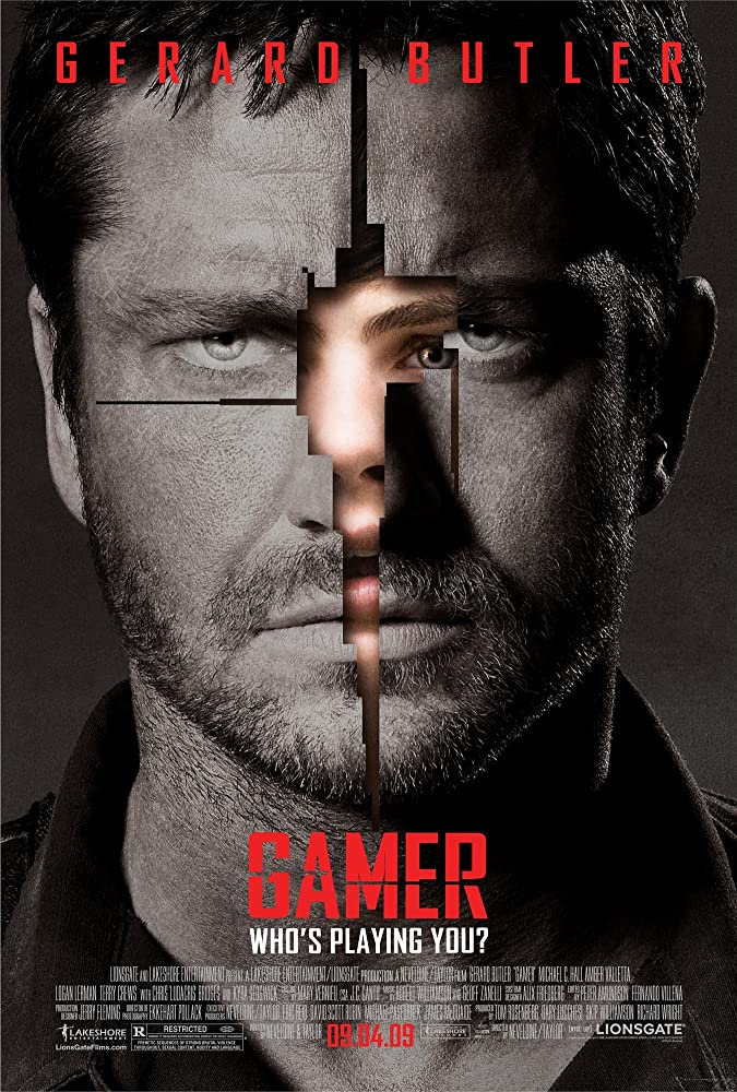 Gamer 2009 Hindi Dual Audio 720p BluRay 700MB ESub Download