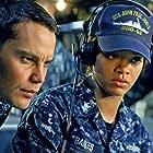 Rihanna and Taylor Kitsch in Battleship (2012)