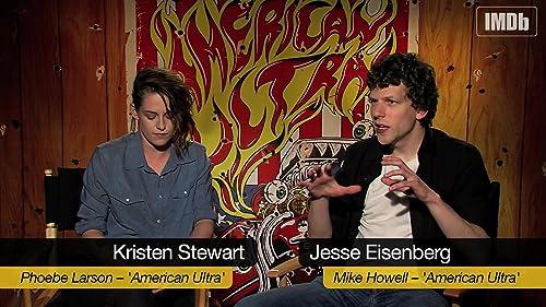 Jesse Eisenberg and Kristen Stewart on 'American Ultra'