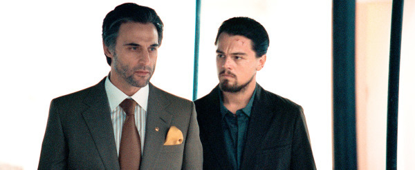 Leonardo DiCaprio and Mark Strong in Body of Lies (2008)