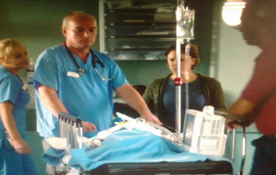 The Anesthetist in the TV series Casualty