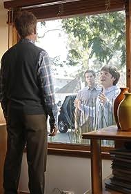 Garret Dillahunt and Lucas Neff in Raising Hope (2010)
