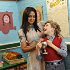 Parminder Nagra and Ross Marron in Horrid Henry: The Movie (2011)