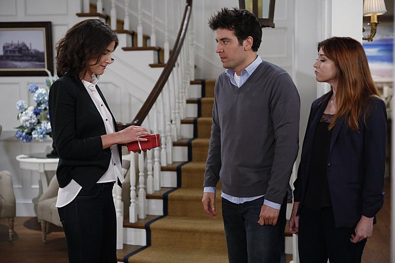 Alyson Hannigan, Josh Radnor, and Cobie Smulders in How I Met Your Mother (2005)