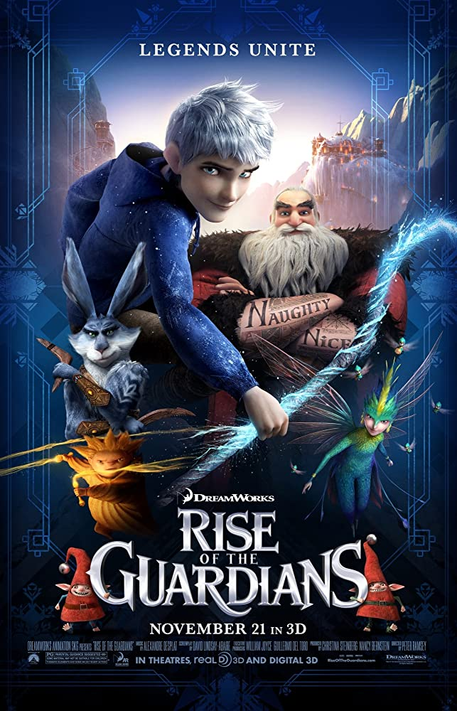 Rise of the Guardians 2012 Hindi Dual Audio 370MB BluRay ESubs Download