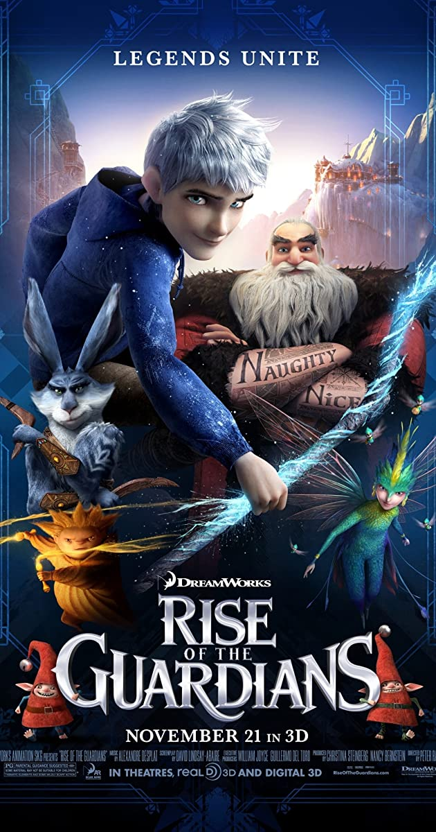 Rise Of The Guardians 2012 Imdb