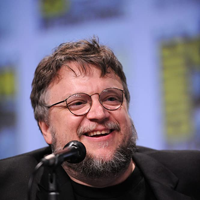 Guillermo del Toro at an event for The Strain (2014)