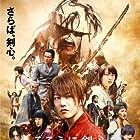Yôsuke Eguchi, Tatsuya Fujiwara, Munetaka Aoki, Takeru Satoh, Tao Tsuchiya, and Emi Takei in Rurôni Kenshin: Kyôto taika-hen (2014)