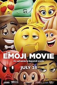 Patrick Stewart, Sean Hayes, James Corden, Anna Faris, Maya Rudolph, Rob Riggle, and T.J. Miller in The Emoji Movie (2017)