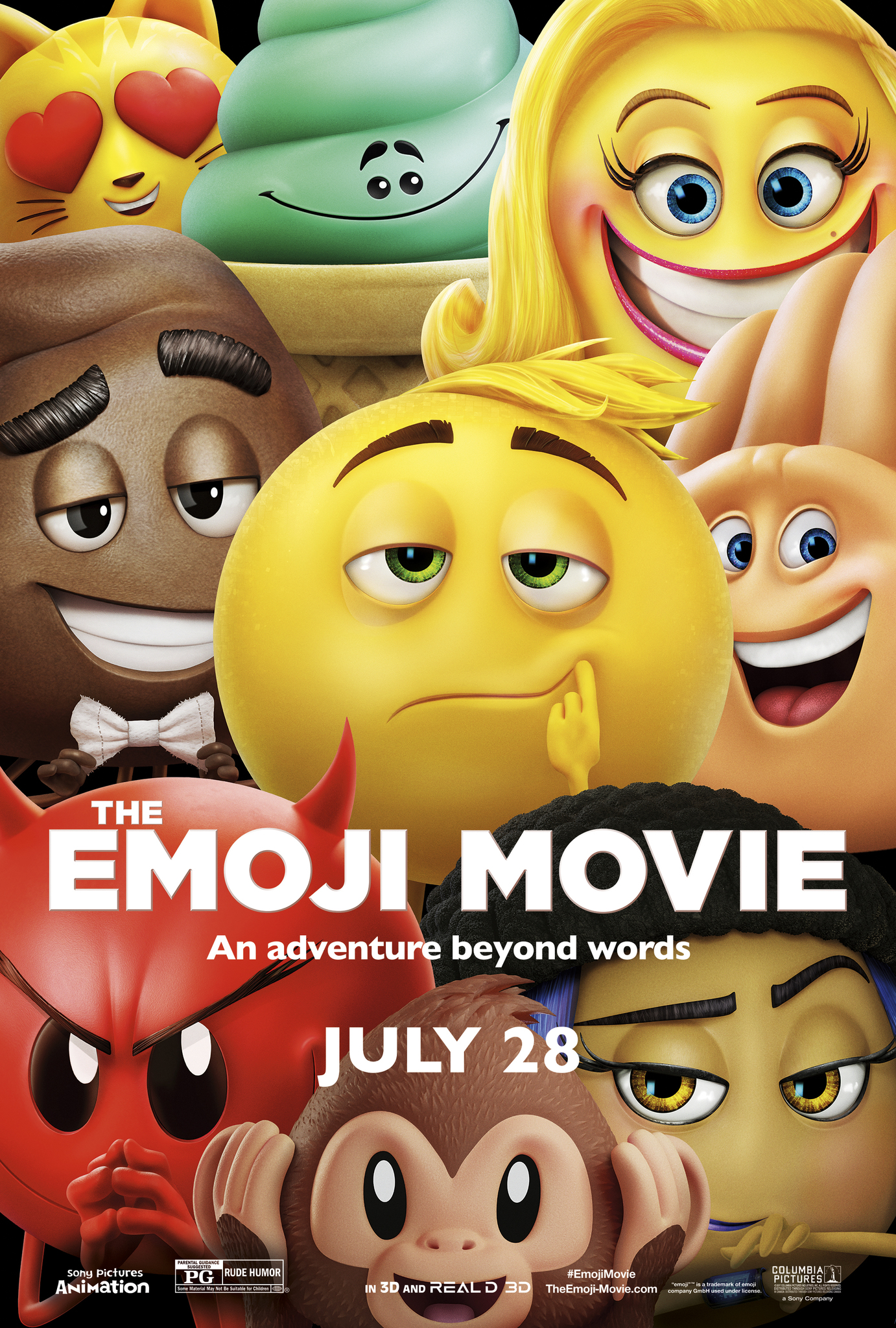 The Emoji Movie (2017) BluRay 480p, 720p & 1080p