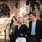 Amanda Barton, Thomas Downey, Leslie Easterbrook, and Ed O'Ross in Sorority Party Massacre (2012)