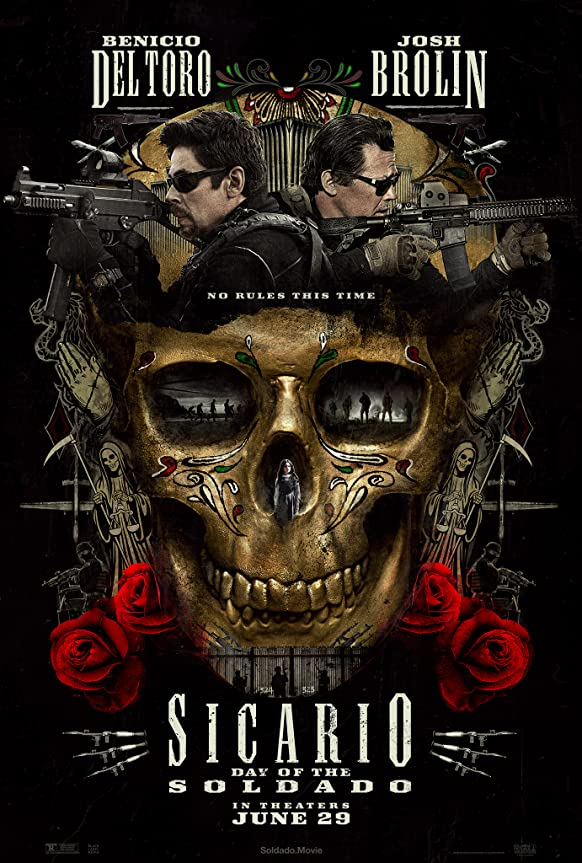 Sicario: Day of the Soldado (2018) Multi Audio [Bihari – Kannada – Hindi – Telugu – Tamil – Malyalam] x264 AAC