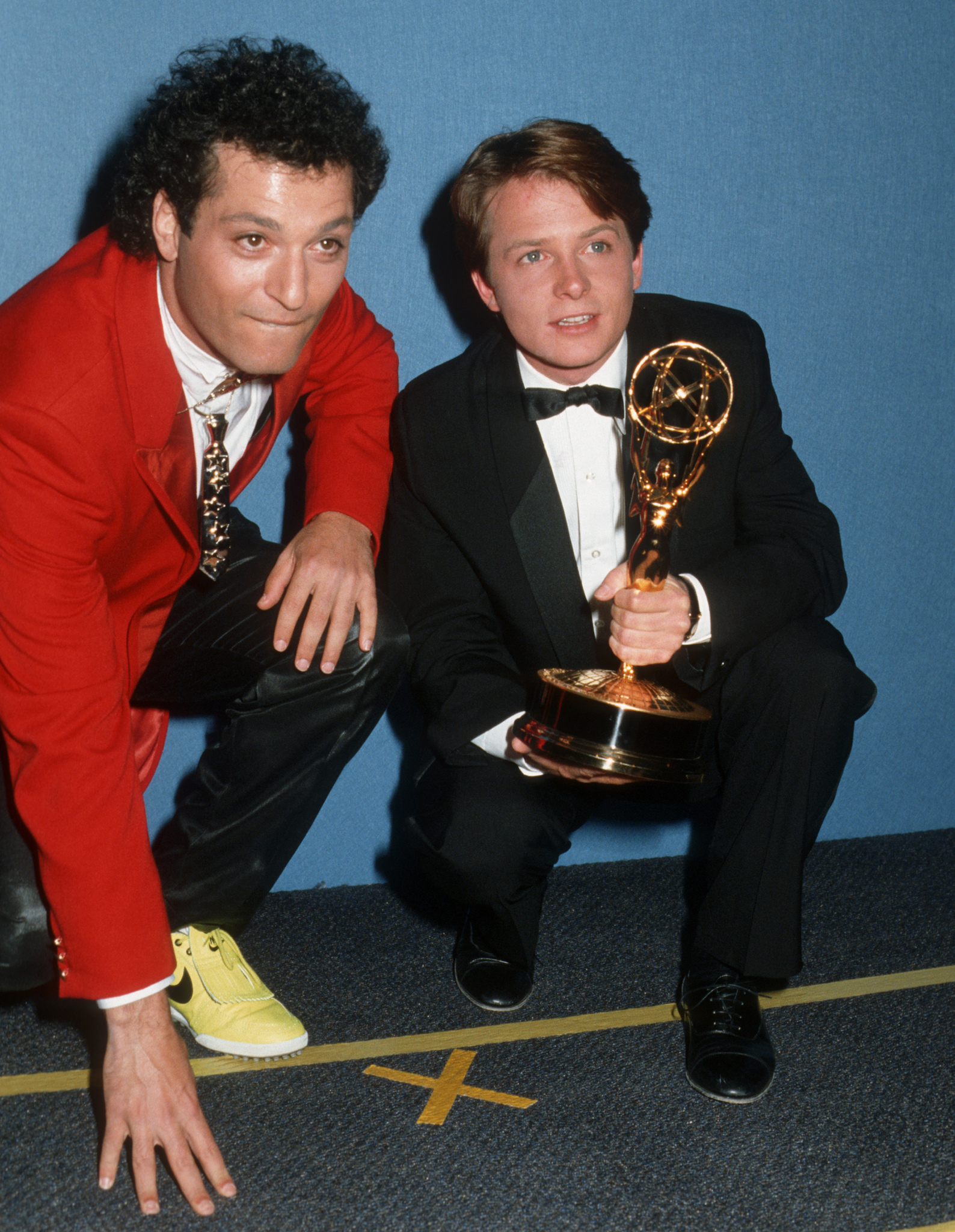 Michael J. Fox and Howie Mandel