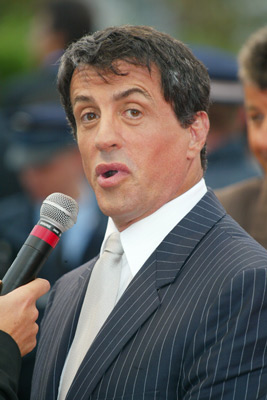 Sylvester Stallone at an event for Avenging Angelo (2002)