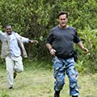 Bruce Campbell and RonReaco Lee in Burn Notice: The Fall of Sam Axe (2011)