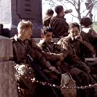 Dexter Fletcher, Mark Lawrence, James Madio, and Marc Warren in Band of Brothers (2001)