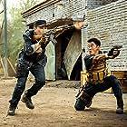 Jing Wu in Zhan lang II (2017)