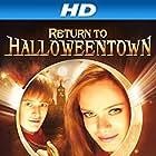 Sara Paxton and Lucas Grabeel in Return to Halloweentown (2004)