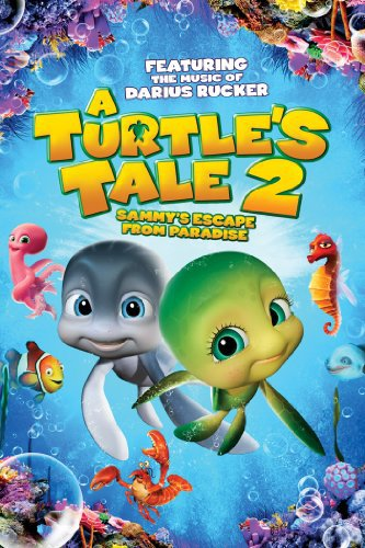 A Turtle's Tale 2: Sammy's Escape from Paradise (2012) Dual Audio 720p BluRay  630MB