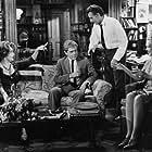 Richard Burton, Elizabeth Taylor, George Segal, and Sandy Dennis in Who's Afraid of Virginia Woolf? (1966)