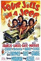 Four Jills in a Jeep