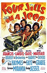 Psp go movie downloads Four Jills in a Jeep [480x854]