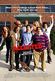 Lewis Black, Mark Derwin, Jeremy Howard, Blake Lively, Justin Long, Maria Thayer, Joe Hursley, Columbus Short, Jonah Hill, and Adam Herschman in Accepted (2006)