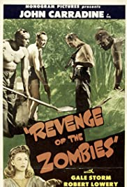 Revenge of the Zombies Poster