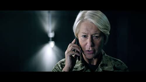 """UK-based military officer Colonel Katherine Powell is in command of a top secret drone operation to capture terrorists in Kenya. Through remote surveillance and on-the-ground intel, Powell discovers the targets are planning a suicide bombing and the mission escalates from """"capture"""" to """"kill."""" But as American pilot Steve Watts is about to engage, a nine-year old girl enters the kill zone, triggering an international dispute reaching the highest levels of US and British government over the moral, political, and personal implications of modern warfare."""