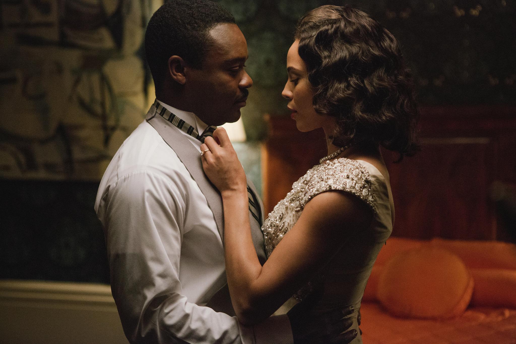 Carmen Ejogo and David Oyelowo in Selma (2014)