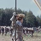 Joan enters battle