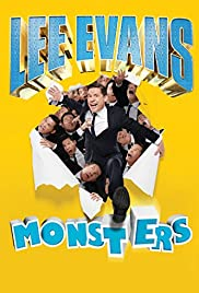 Lee Evans: Monsters Poster