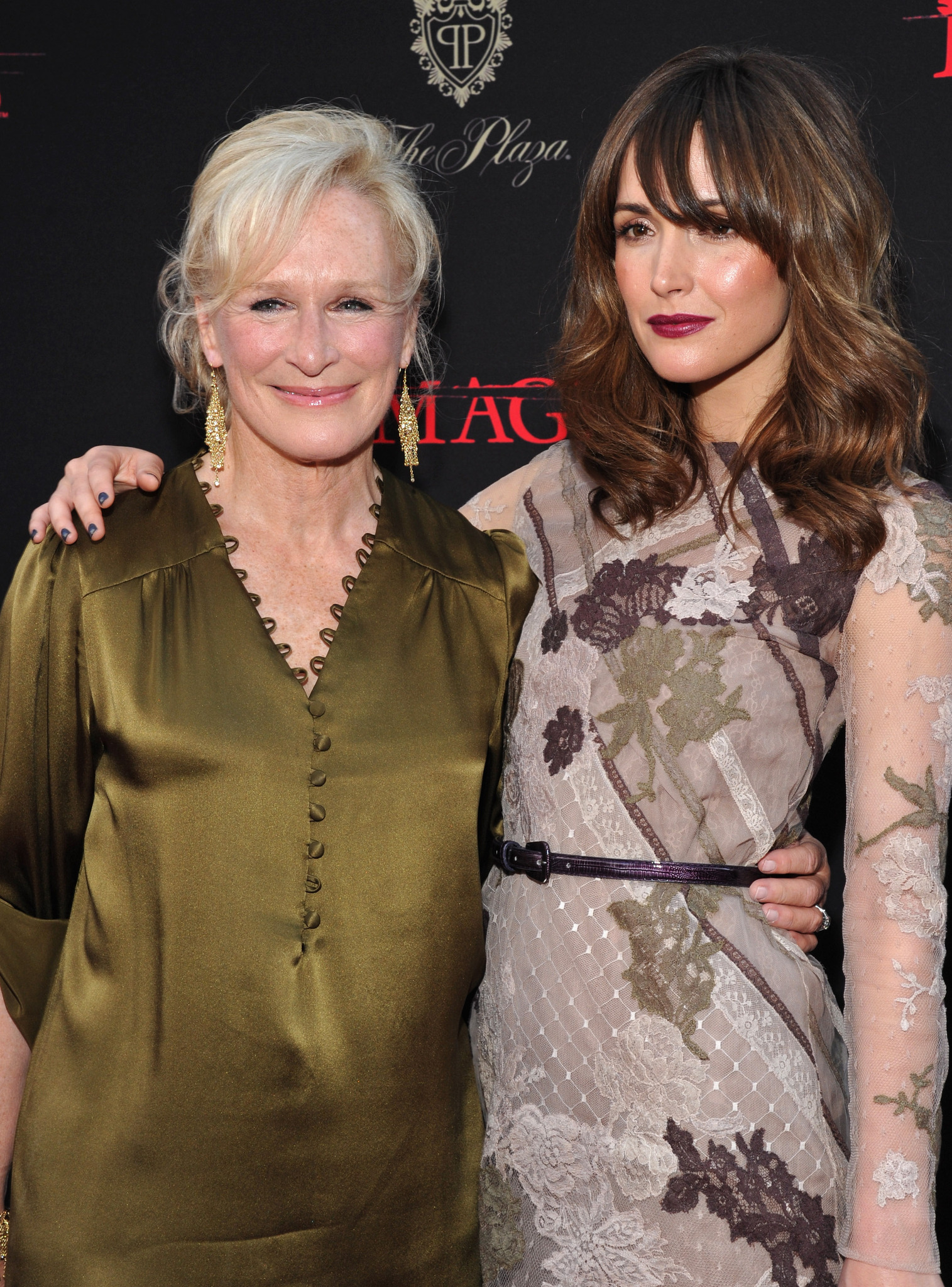 Glenn Close and Rose Byrne at an event for Damages (2007)