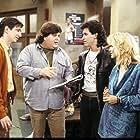 Brian Robbins, Dan Frischman, Dan Schneider, and Suzanne Snyder in Head of the Class (1986)