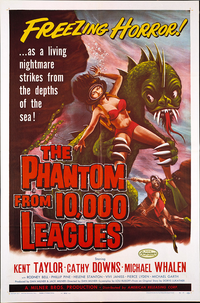 The Phantom from 10,000 Leagues (1955)