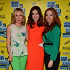 Radha Mitchell, Michelle Monaghan, and Jessie McCormack at an event for Gus (2013)