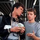 Maxwell Caulfield and Christopher McDonald in Grease 2 (1982)