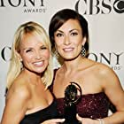 Kristin Chenoweth and Laura Benanti at an event for The 62nd Annual Tony Awards (2008)