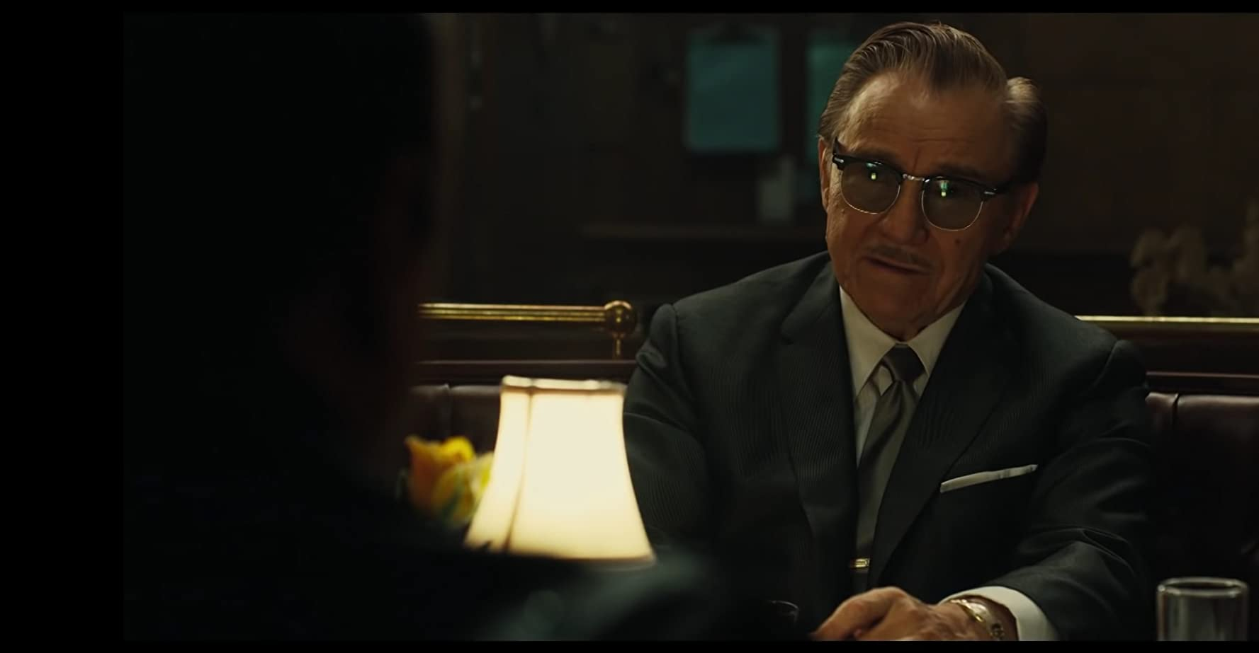 Robert De Niro and Harvey Keitel in The Irishman (2019)