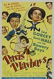 Paris Playboys(1954) Poster - Movie Forum, Cast, Reviews