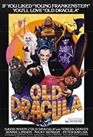 Old Dracula Poster