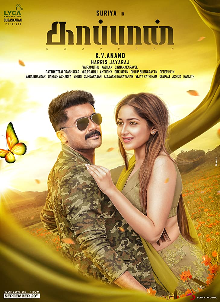 Kaappaan 2019 Tamil Official Trailer 720p HDRip 20MB Download