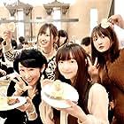 Sayaka Ôhara, Rie Takahashi, Minami Tanaka, and Yurika Kubo at an event for Isekai Cheat Magician (2019)